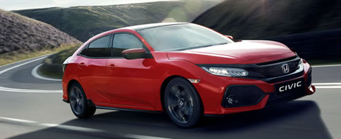 The New Honda Civic at Steels Hereford